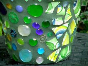 mosaic pot craft