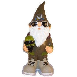 Air Force Garden Gnome
